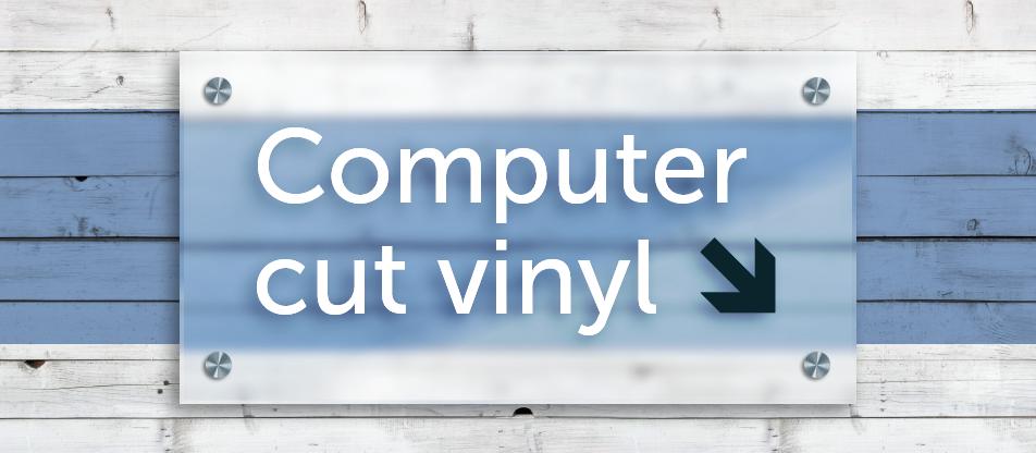 Vinyl lettering - Mornington Signs